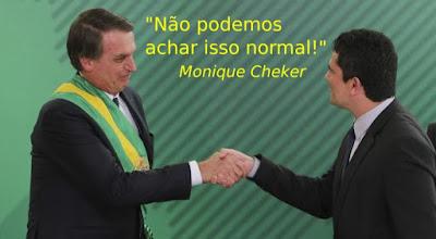Bolsonaro dá posse a Moro