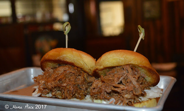 Local Craft Kitchen & Beer Bar Pulled Pork Sliders