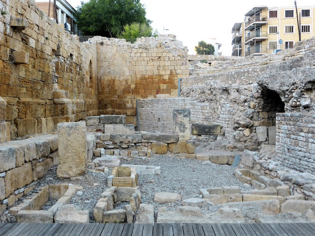 Anfiteatro de Tarragona, ruinas