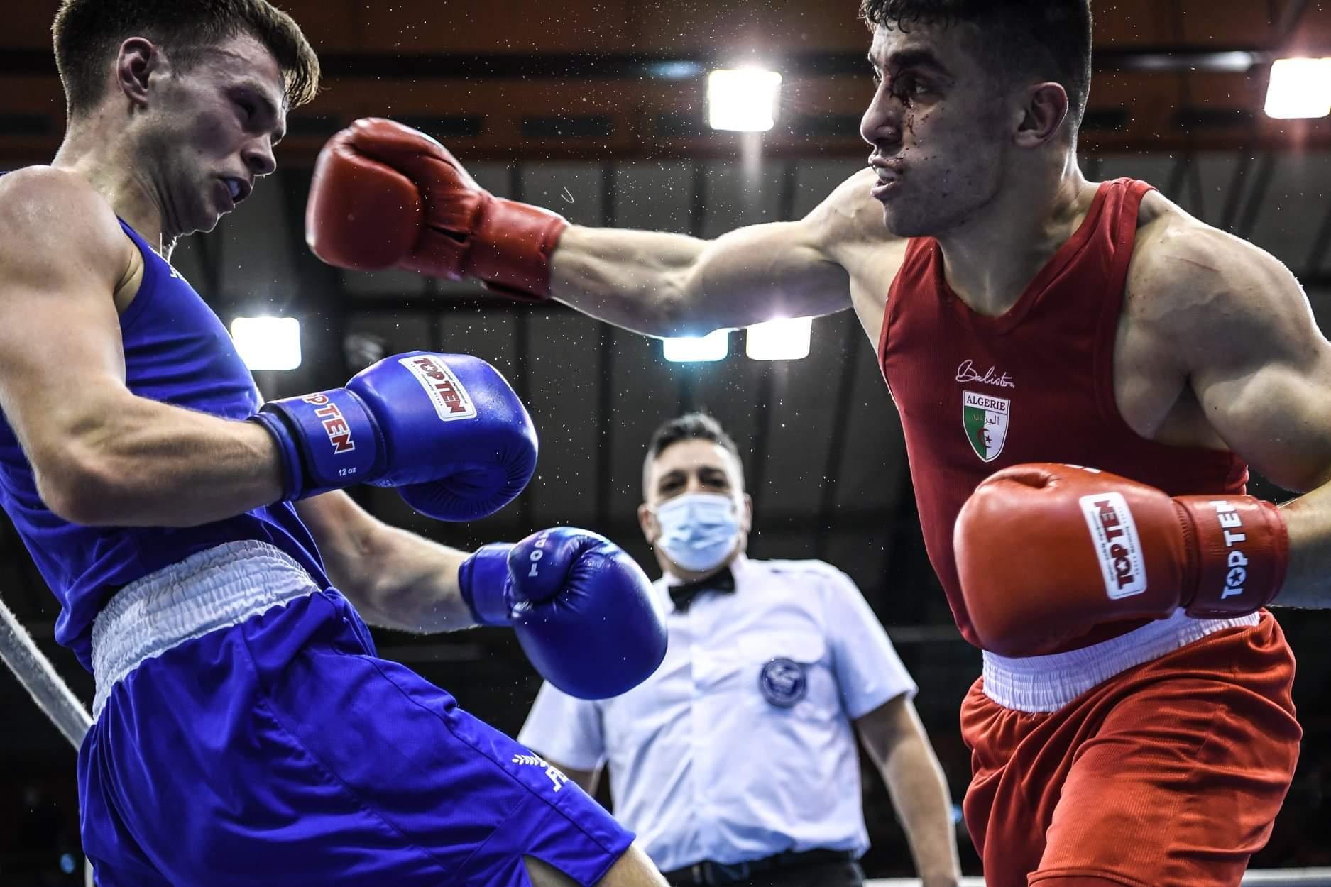 الدورة الدولية ''بوكسكاي إستفان ميموريال'': نتائج الملاكمين الجزائريين في اليوم الأول