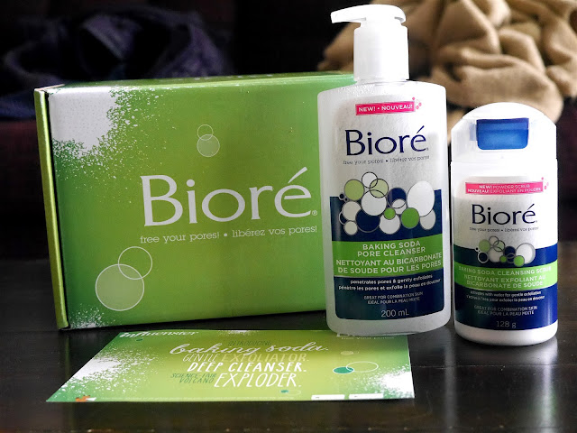 Biore Baking Soda Pore Cleanser and Baking Soda Cleansing Scrub Review