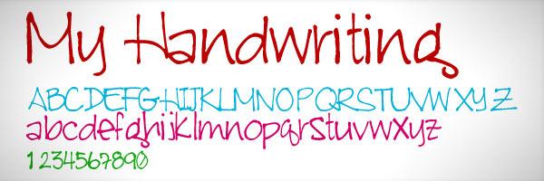 كيف تحول خط يدك الى خط قابل للاستعمال من طرف الحاسوب (Font)