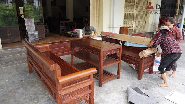 Bàn giao bộ trường kỷ bảo áp xuyên niên tại Đồng Nai