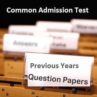 CAT previous year question paper - Download