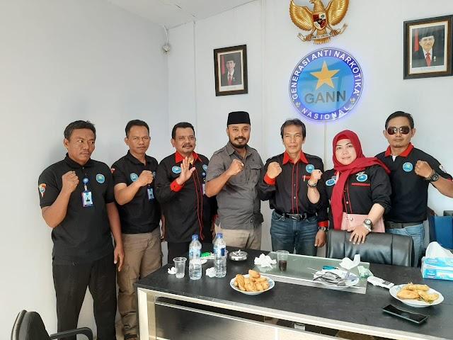 Jalin Komunikasi Pengurus PAC GANN Tambora Kunjungi Ketua DPC GANN Jakarta Barat