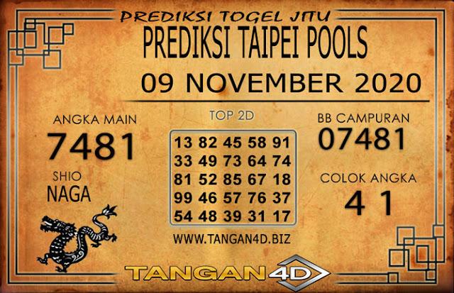 PREDIKSI TOGEL TAIPEI TANGAN4D 09 NOVEMBER 2020