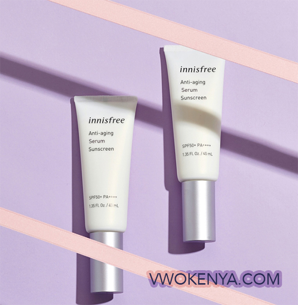 Kem chống nắng innisfree Anti-aging Serum Sunscreen SPF 50+ PA ++++