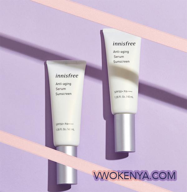 Kem chống nắng innisfree Anti - aging Serum Sunscreen SPF 50+ PA++++