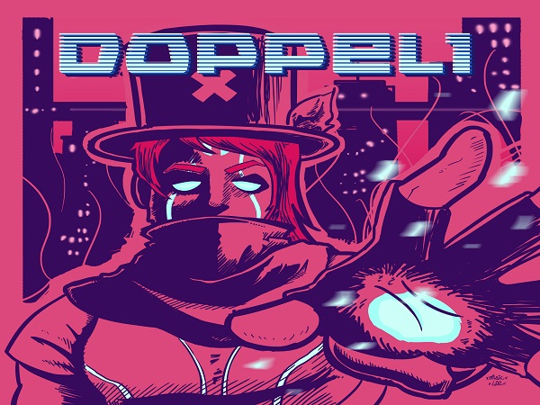 DOPPEL1   Músico brasileiro lança game estilo RPG e álbum conceitual