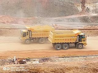 xe ben mỏ LGMG 1