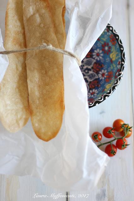 sfoglie di pane all'acqua facili e veloci