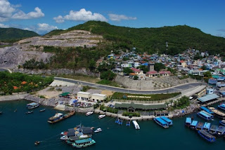 Nha Trang vista aerea dalla funivia