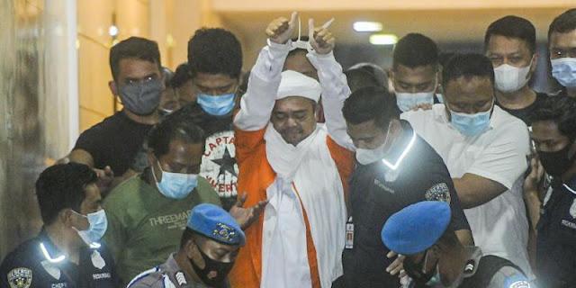 Front Persatuan Islam Lampung Desak Habib Rizieq Dibebaskan