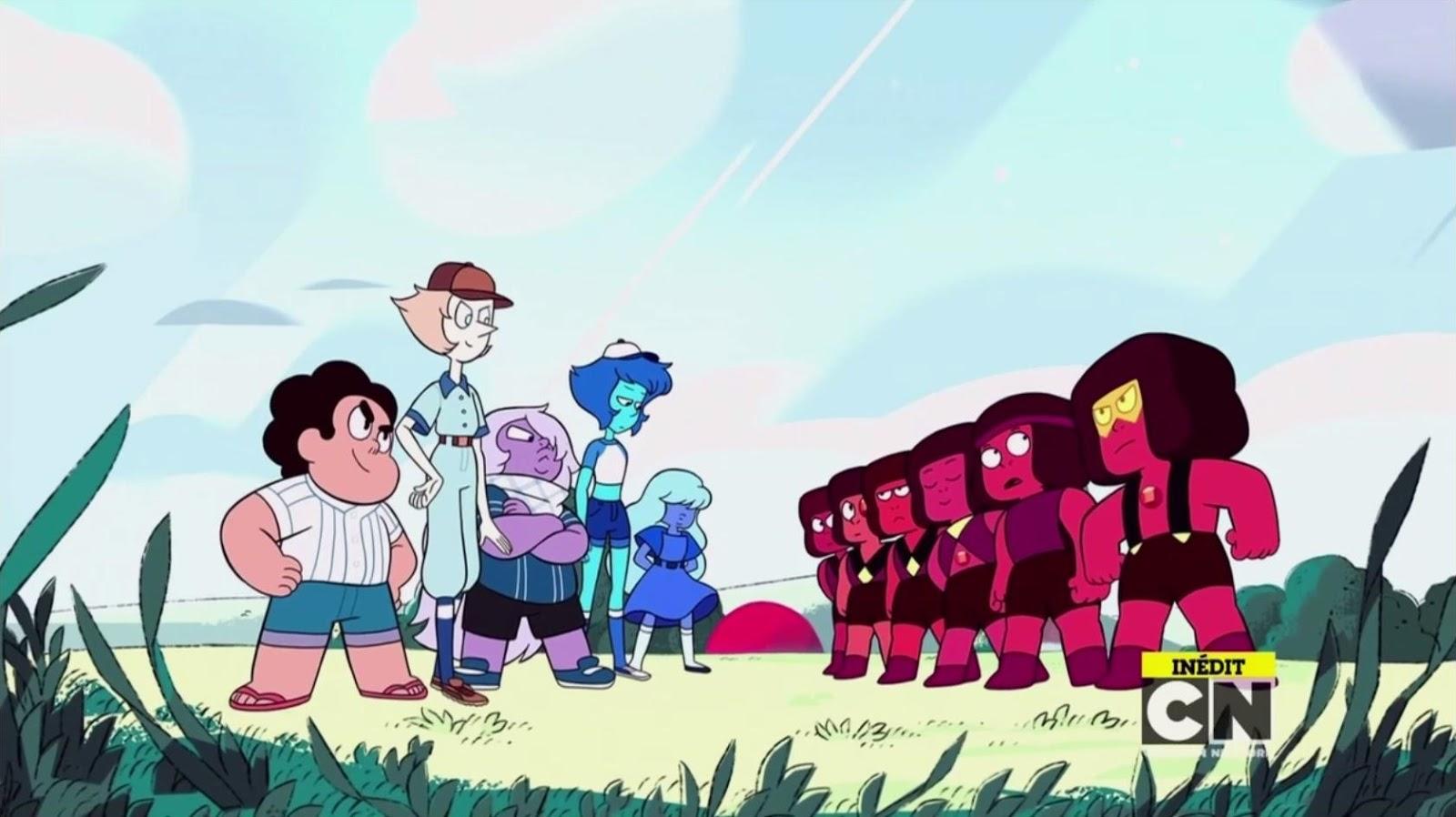 Steven Universe Recap S03e05 Quot Hit The Diamond Quot
