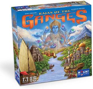 Como jugar Rajas of The Ganges the board fame