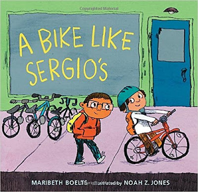 https://www.amazon.com/Sergios-Junior-Library-Guild-Selection/dp/0763666491/ref=sr_1_1?s=books&ie=UTF8&qid=1478890475&sr=1-1&keywords=a+bike+like+sergio%27s