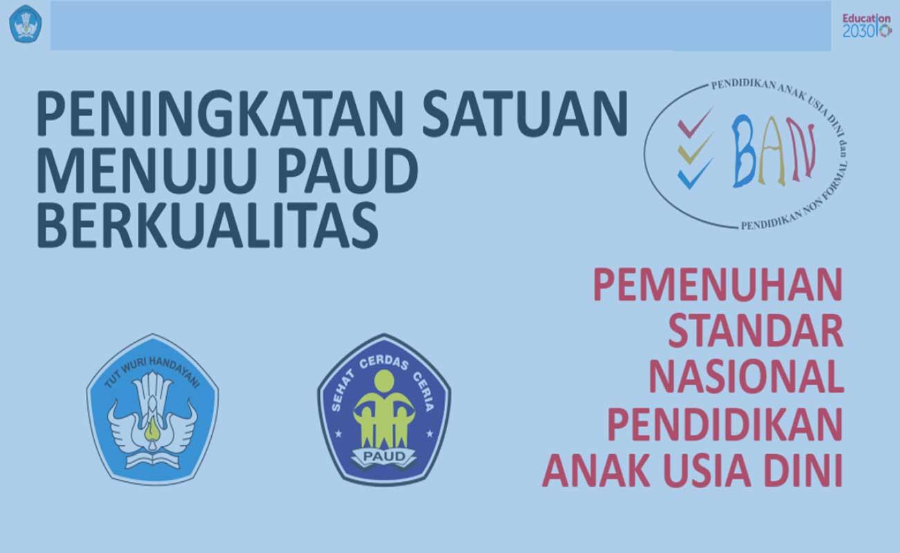 Download Panduan Dokumen Akreditasi PAUD TK RA Upload Ke SisPenA
