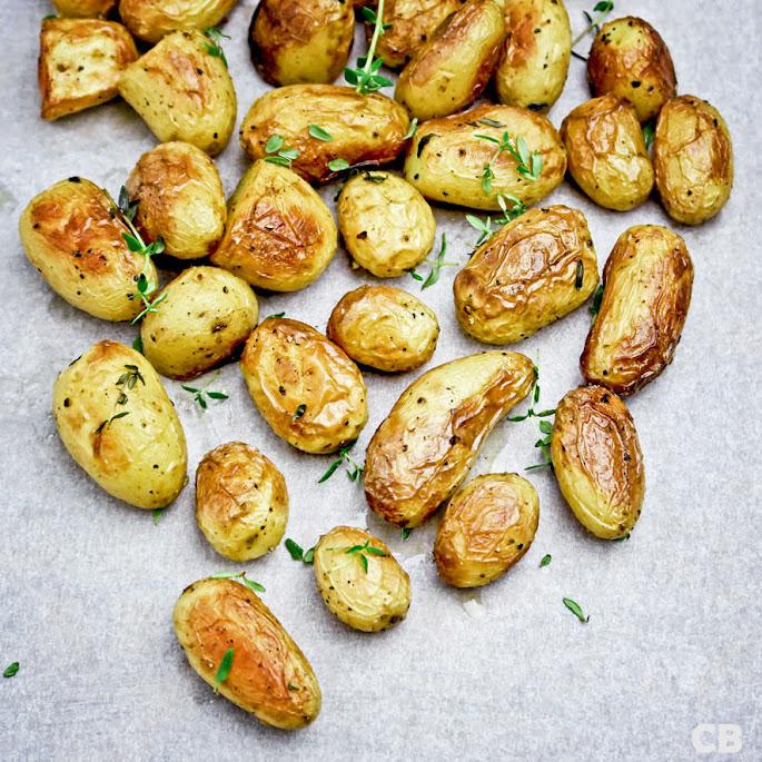 Recept Krieltjes in de schil geroosterd in de oven!