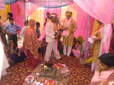 Vedic ASHA Trust: Supported for Marriage of poor girls