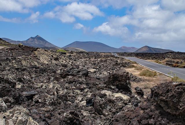le Parc national de Timanfaya est un site volcanique de 5 000 hectares, situé A l'ouest de Lanzarote