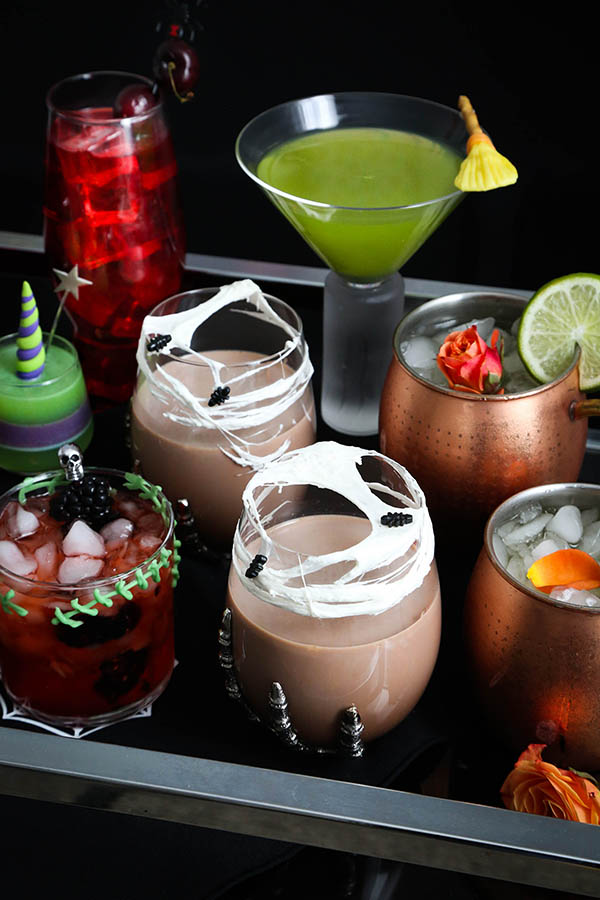 Six Spooky Cocktails for a Spirited Halloween!   Sprinkle