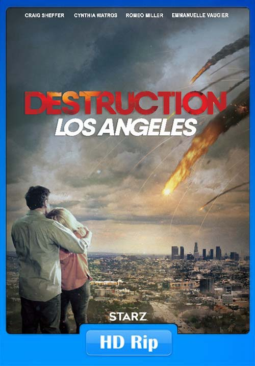 Destruction Los Angeles 2017 English 720p HDRip x264 | 480p 300MB | 100MB HEVC Poster
