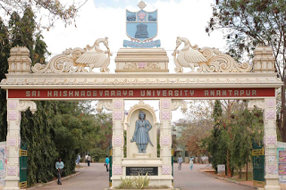 Full Info Sri krishnadevaraya University Anantapur District Fees Format and Ranking Details