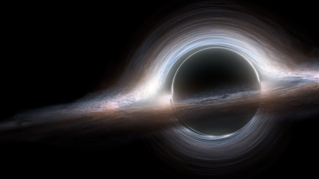 What are black holes in space