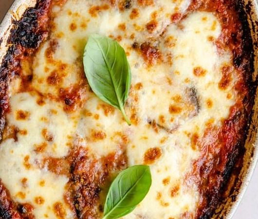 Eggplant Parmigiana (Parmigiana di Melanzane) #dinner #comfortfood