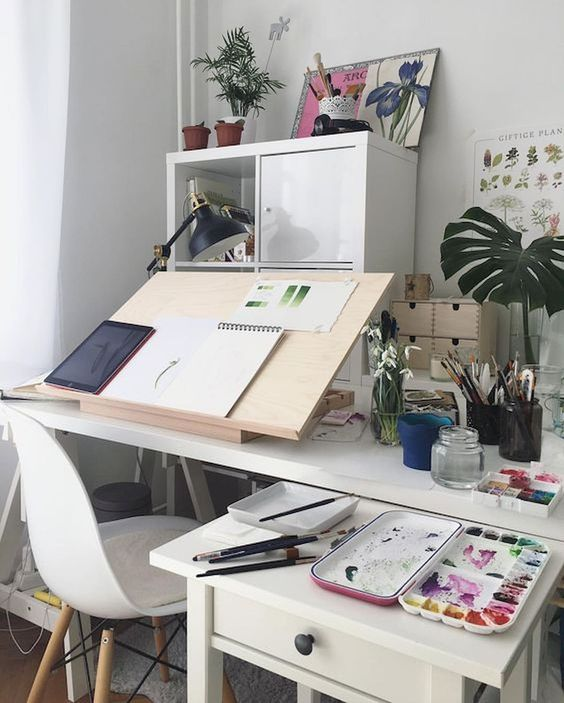most popular craft room sewing decor idea