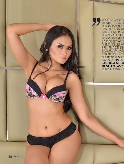 majalah gress n max magazine full photo extra hot loli