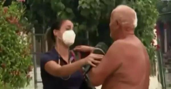 Ηλικιωμένος κάτοικος της Εύβοιας ξεσπά σε κλάματα στην αγκαλιά δημοσιογράφου! (βίντεο)