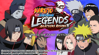 Naruto Shippuden Legends Akatsuki Rising (USA) Iso PSP For Android