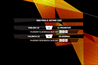 UEFA Europa League Eutelsat 7A/7B Biss Key 9 May 2019