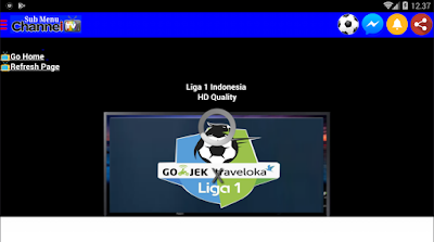 Aplikasi Nonton Streaming Bola Liga 1 Gojek Traveloka 2019, beIN Sports Soccer