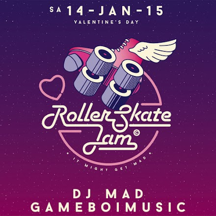 DJ MAD und GAMEBOIMUSIC - Roller-Skate Jam Mojo Club Valentine's Day Mix | Boogie Baby!