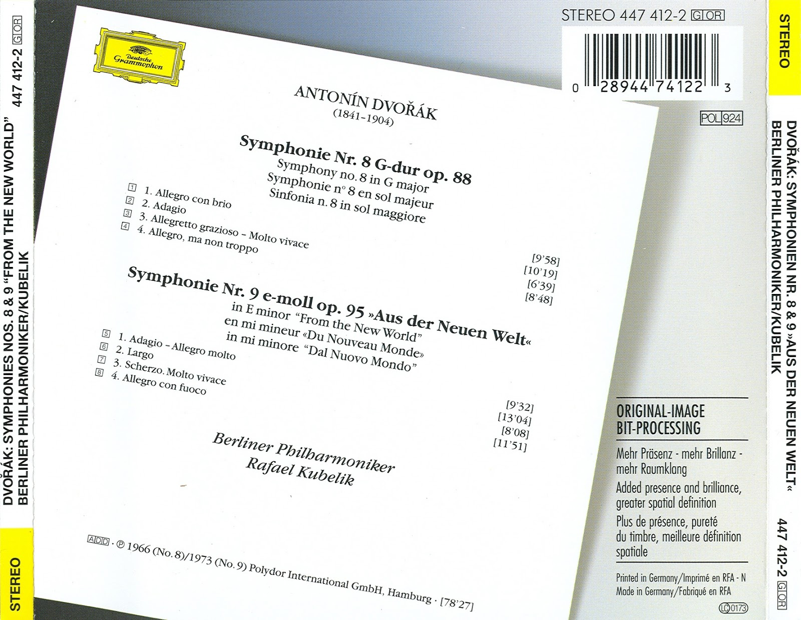 Magical Journey Anton 237 N Dvoř 225 K Symphonies Nos 8 Amp 9