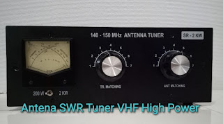 Antena SWR Tuner VHF High Power untuk Boster 2 Meter Band