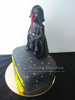 star wars darth vader cake sugar paste
