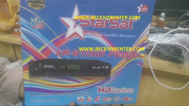 STARSAT SR-B10HD PRIME RECEIVER CCCAM OPTION