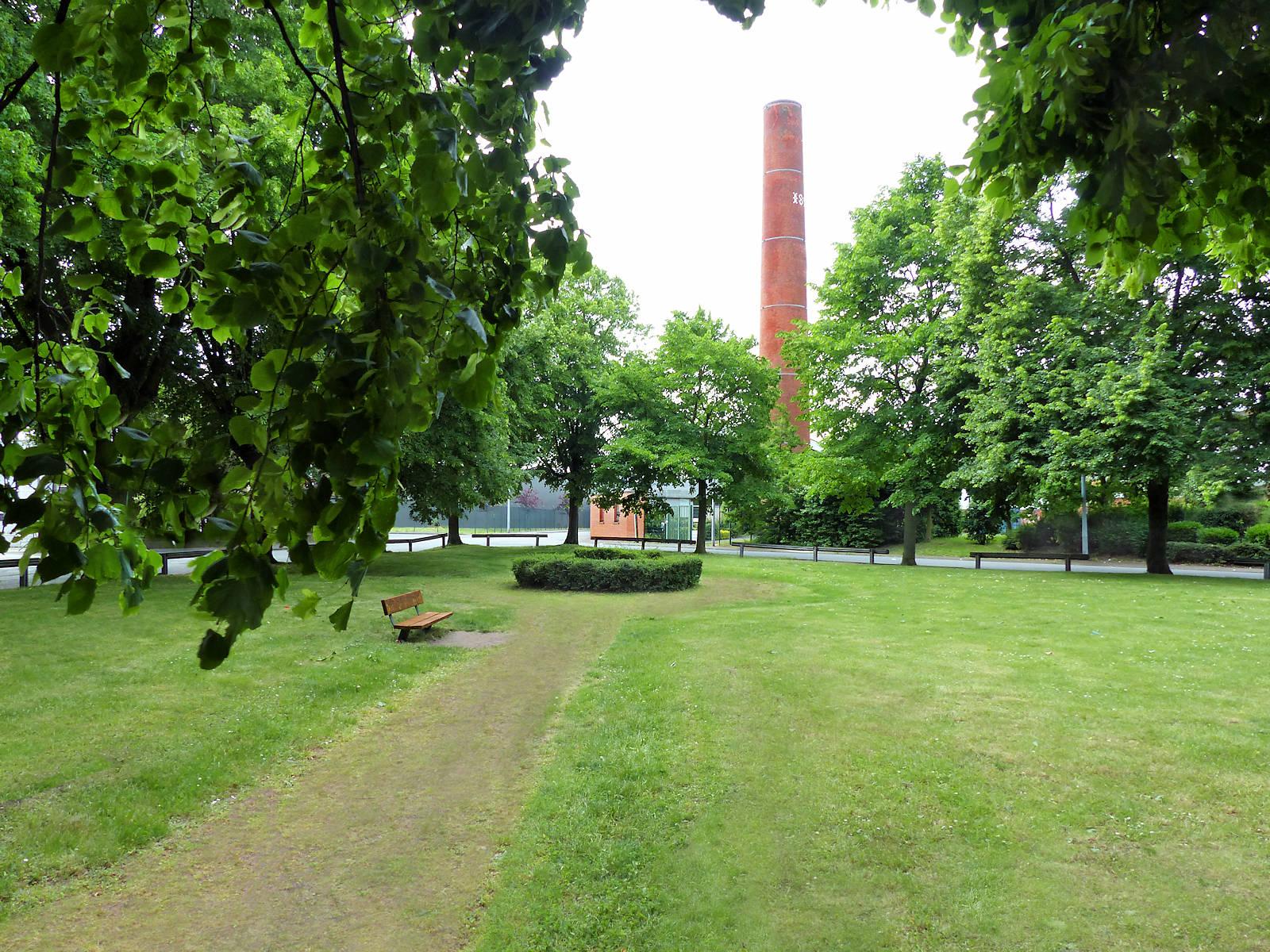 Espaces Verts Tourcoing - Square Hondschoote Épidème
