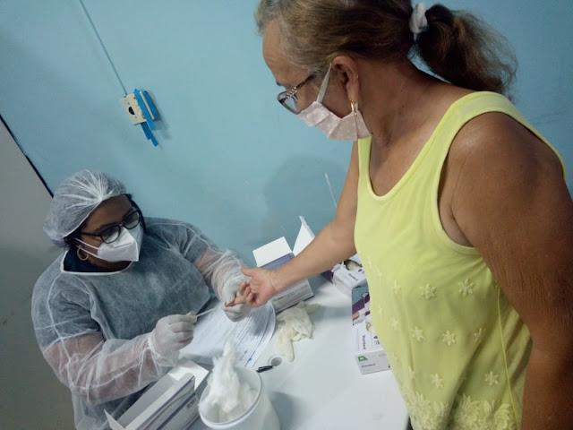 Secretária de saúde de Patos faz balanço das testagens para Covid-19