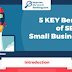 5 KEY Benefits of SEO for Small Businesses #infographic