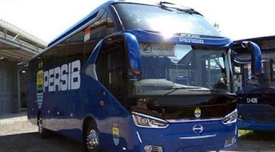 Inilah spesifikasi bus Persib. Bus Biru Maung Bandung!