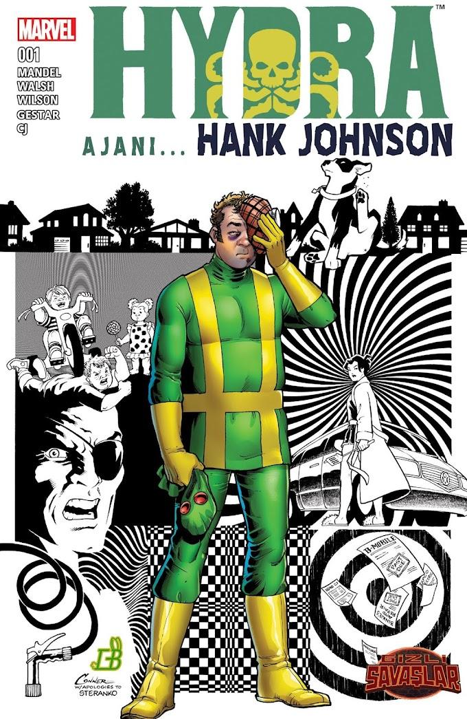 Hydra Ajanı Hank Johnson [TEK SAYI]