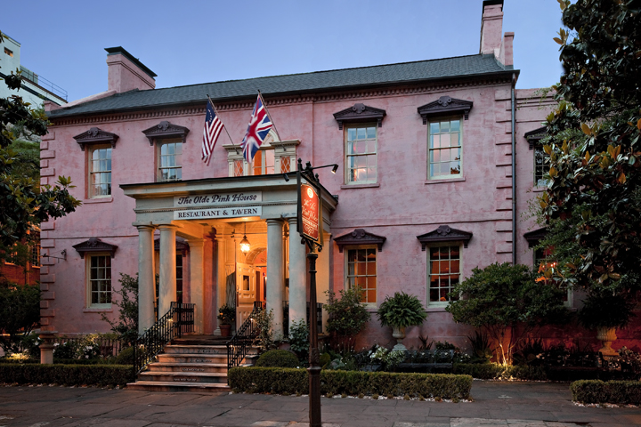 Olde Pink House Savannah Most Haunted Places