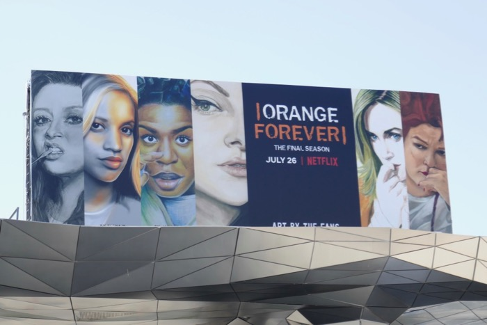 Orange is New Black season 7 billboard