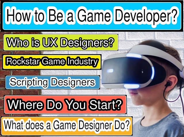 How to Become a Video game Designer 2020
