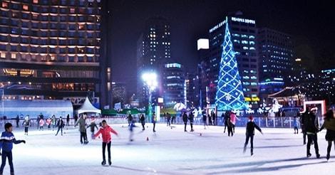 Tips Wisata Musim Dingin Korea Selatan Ice Skating