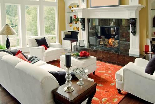 Salas peque as con chimenea salas con estilo - Chimeneas star ...